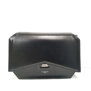 New Givenchy Bow-Cut Calfskin Leather Shoul